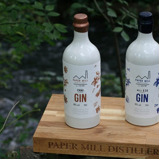 chai & mill 630 gin by the paper mill distillery river